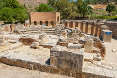 Ruins at Gortyna. Crete, Greece Royalty Free Stock Photography