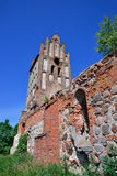 Ruins of a Gothic church Royalty Free Stock Photo