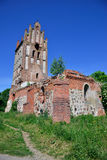 Ruins of a Gothic church Royalty Free Stock Images