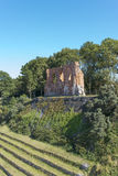 Ruins of gothic church from 14/15th century located in Trzesacz near the Baltic Sea. Royalty Free Stock Photography