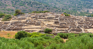 Ruins of Gournia. Crete, Greece Royalty Free Stock Images