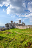 Ruins of great castle in Ogrodzieniec. Royalty Free Stock Photos