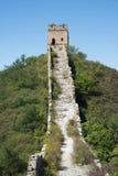 Ruins of the Great Wall, Jinshanling Section Stock Photos