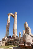 Ruins of the Greco-Roman city of Gera at Jordan Stock Photo