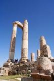 Ruins of the Greco-Roman city of Gera at Jordan Stock Photo