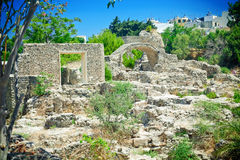 Ruins In Greece Royalty Free Stock Image