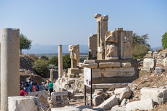 Ruins of greek city Ephesus Stock Photography