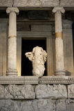 Ruins of a greek temple Royalty Free Stock Photography