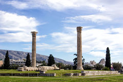 Ruins of greek temple Royalty Free Stock Images