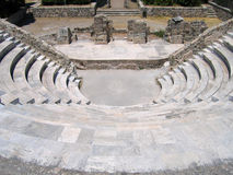 Ruins of the Greek Theater Royalty Free Stock Images