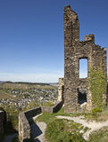 Ruins of Grevenburg castle at Traben-Trarbach Stock Images