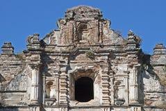 Ruins of a Guatemalan church Royalty Free Stock Images