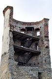 Ruins - half of tower Royalty Free Stock Photo