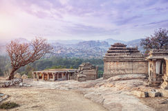 Ruins in Hampi Royalty Free Stock Photo
