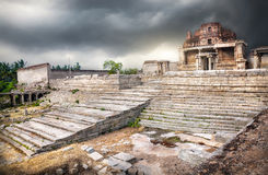 Ruins in Hampi Stock Image