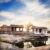 Ruins in Hampi Royalty Free Stock Photography