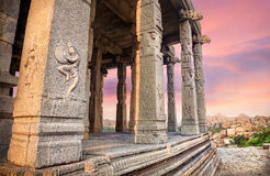 Ruins in Hampi Stock Images