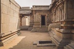 Ruins of Hampi Stock Photo