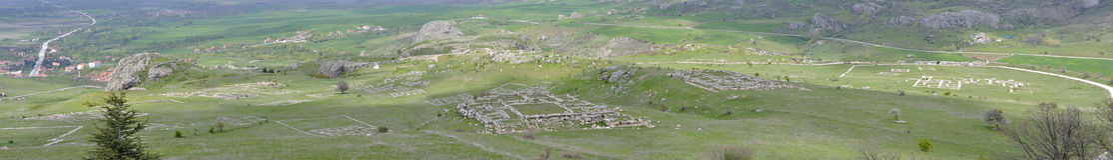 Ruins of Hattusa Stock Image