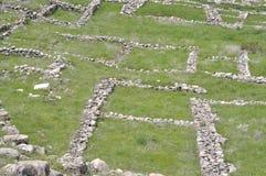 Ruins of Hattusa. Capital city of Hittite Empire. Royalty Free Stock Photo