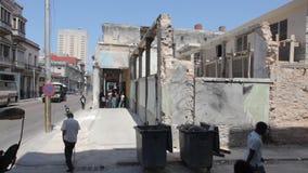 Ruins in havana stock video