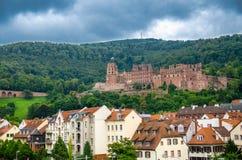Ruins of Heidelberg castle Schloss Heidelberg, Germany royalty free stock photos