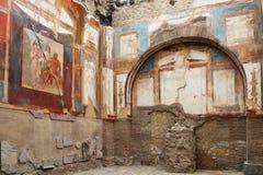 Ruins of Herculaneum, Italy Stock Image