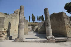 Ruins of Herculaneum Stock Image