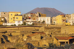 Ruins of Herculaneum Stock Photos