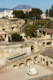 Ruins of Herculaneum Stock Photo