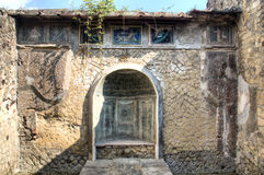 The ruins of Herculaneum, Naples, Italy Royalty Free Stock Images