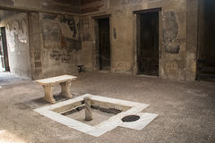 The ruins of Herculaneum, Naples, Italy Stock Image