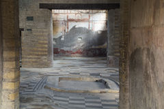 The ruins of Herculaneum, Naples, Italy Stock Photography