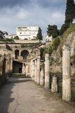 The ruins of Herculaneum, Naples, Italy Royalty Free Stock Photography