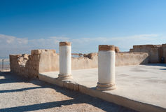 Ruins of Herod's palace Royalty Free Stock Photo