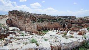 Ruins of Herodium Herodion Fortress of Herod the Great,  Judaean Desert near to Jerusalem, Israel. Ruins of Herodium Herodion Fortress of Herod the Great Stock Photos