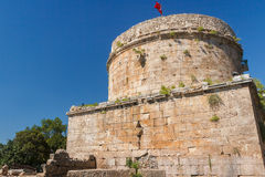 Ruins of the Hidirlik Tower Royalty Free Stock Photography