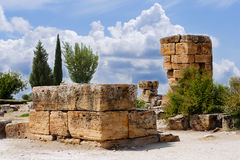 Ruins of Hierapolis Royalty Free Stock Image