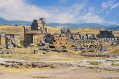 Ruins of Hierapolis Stock Images