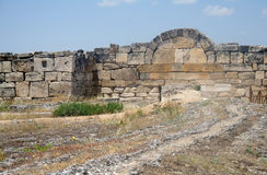 Ruins of Hierapolis, Royalty Free Stock Photography