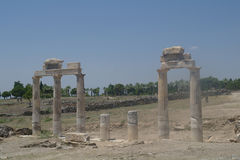 Ruins of Hierapolis, Stock Images