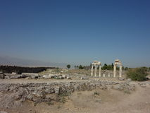 The Ruins Of Hierapolis Stock Images