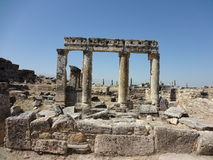 The Ruins Of Hierapolis Stock Photos