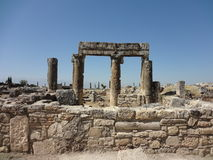 The Ruins Of Hierapolis Royalty Free Stock Image