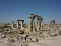 The Ruins Of Hierapolis Royalty Free Stock Photo