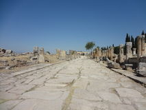 The Ruins Of Hierapolis Stock Image