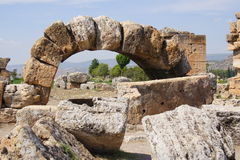 Ruins of Hierapolis, Turkey Royalty Free Stock Photo