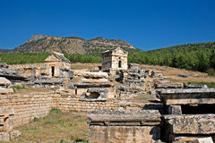 Ruins of Hierapolis,Turkey Stock Photography