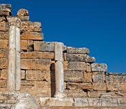 Ruins of Hierapolis,Turkey Royalty Free Stock Photography