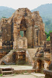Ruins of hindu temples of My Son Royalty Free Stock Image